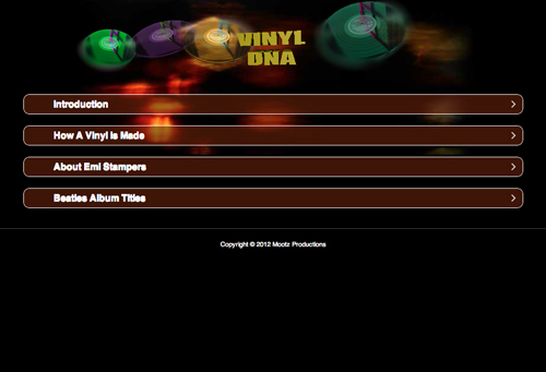 The Beatles DNA Mobile Appp