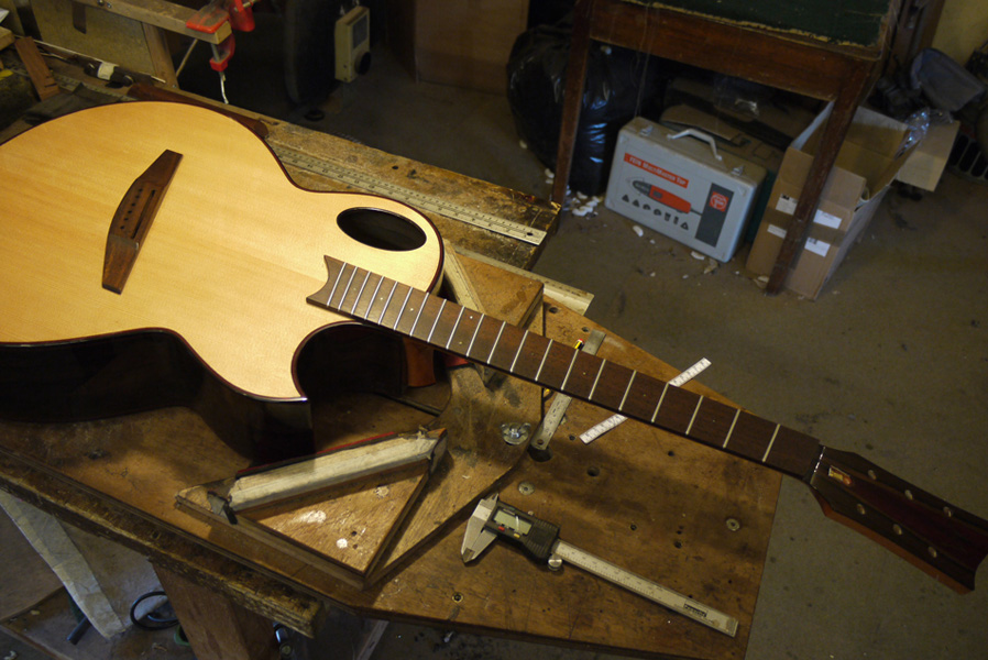 Brook Guitars Custom Tamar Guitar Build-8