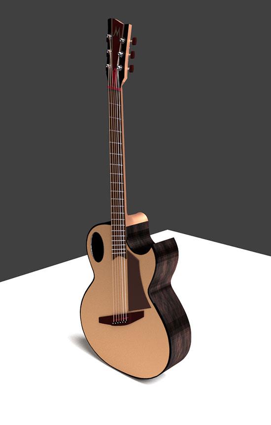 Brook Guitar Blender Cycles-27