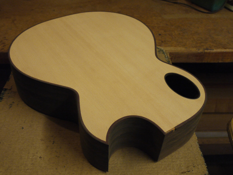 Brook Guitars Custom Tamar Guitar Build-28