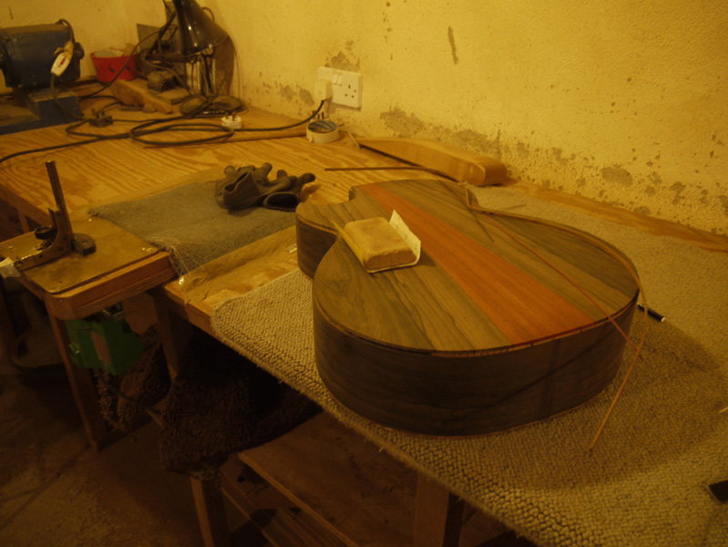 Brook Guitars Custom Tamar Guitar Build-29