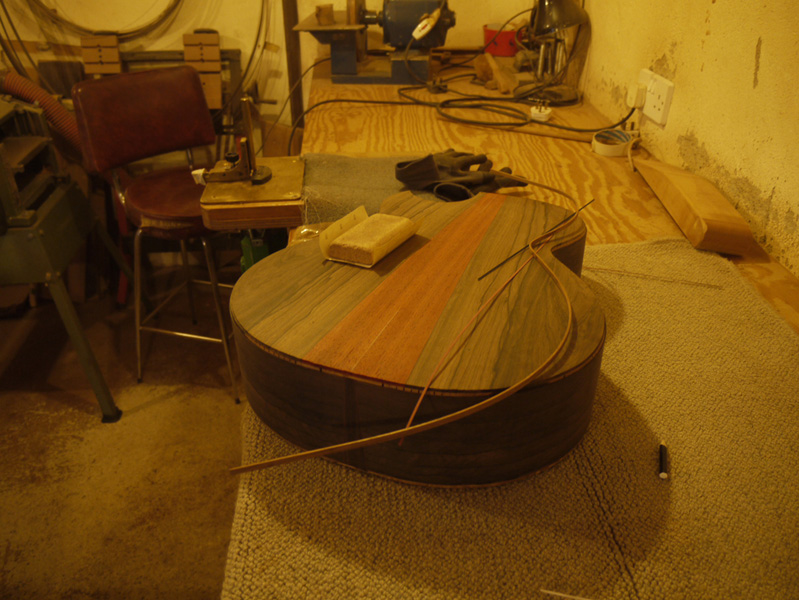 Brook Guitars Custom Tamar Guitar Build-30